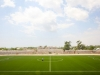 The Baanadir Stadium in the Abd-Aziz District of the Somali capital Mogadishu, the pitch has just been re-surfaced with a new artificial playing surface.